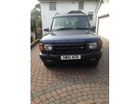 LAND ROVER DISCOVERY 2.5 DIESEL T5 series 2 2001(51)