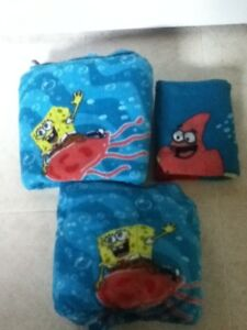 Twin Size Fleece Sponge Bob Bed Sheets
