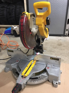 DW716 Double Bevel Compound Miter Saw Combined with Laser System