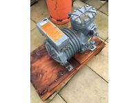 DWM Copeland 3 hp refrigeration compressor