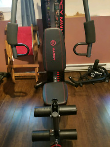 Excellent condition home gym
