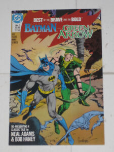 Best of Brave and Bold#'s 1,2,3,4,5 & 6 set! comic book