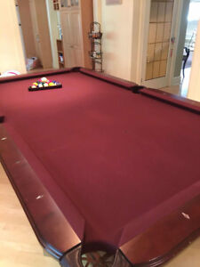 Pool Dining Room Table Combined