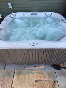 Jacuzzi Hot Tub, Model J-355