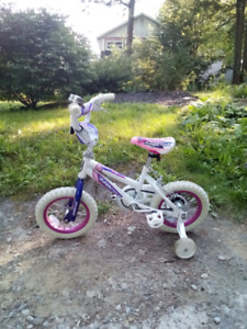 Hardly used girls bike
