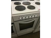 White Electric Free Standing Cooker,