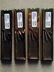 OCZ Platinum XTC 4GB RAM (4 x 1GB) DDR2-800 PC2-6400