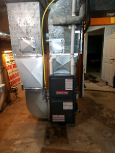New 2 stage Furnace Installation $2200 same day $250 ecm rebate