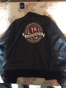 GRIMM'S sausage jacket (real leather)