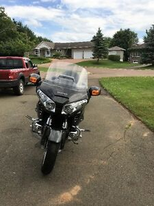 New Price.  For Sale 07 Goldwing and Trailer