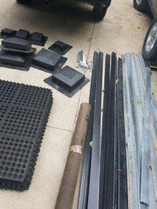 ROOFING SUPPLIES- DRIP EDGE- VENTS- TAR PAPER