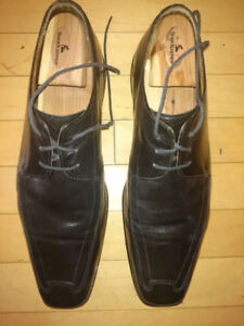 Men's Browns Dress Shoes (Black colour) - Made in Italy