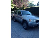Grand Cherokee jeep 2.7 crd only 93 k miles