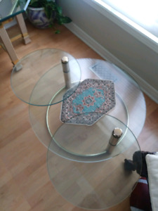 Coffee and End Table Set. Moving Sale