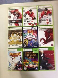 9 Xbox 360 games $7 or all for $40