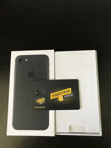 Iphone 7 32GB Noir *DÉVERROUILLÉ*
