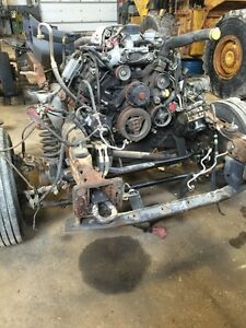 F550 chassis and engine for sale