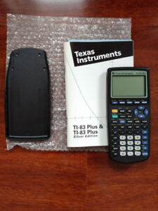 New Texas Instrument TI-83 Plus Graphing Calculator
