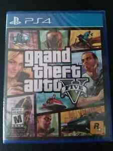 Brand new sealed copy of gtav