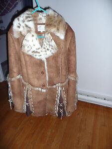 Manteau en Suède