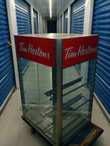 Rare Tim Hortons  Vintage Display Unit