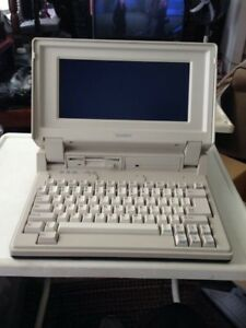 """ANTIQUE"" Radio Shack - Tandy 1400 HD (20 MB Hard Drive) Laptop"