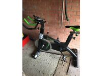 Exercise bike; Elevation Spin exercise aerobic bike new condition