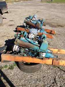 Two marine motors for sale.