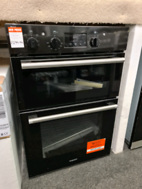 Brand New HOTPOINT Class 2 DD2 540 BL Electric Double Oven - Black