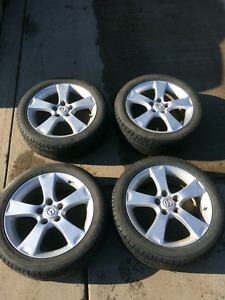 All Season GT Radial Tires on 17inch Rims