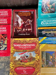Classic dungeons and dragons