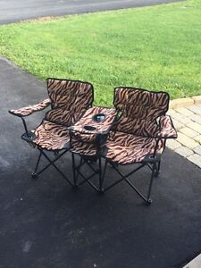 Kids Pop Up Double Chairs