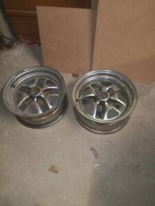 """Old 14"""" Chevy rims"""