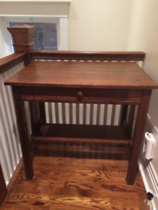 COLLECTABLE MISSION  Table Solid Walnut