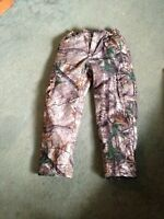Camo hunting coat and pant set