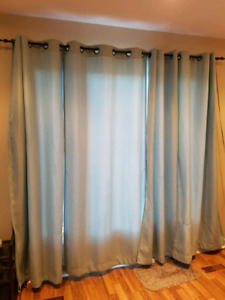 privacy/Light filtering curtain panels
