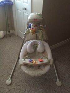 Fisher-Price Nature's Touch Cradle Swing
