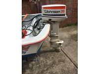 Johnson 35hp Outboard Motor Engine 2 Stroke.