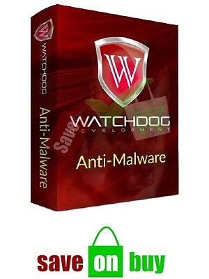 Watchdog Anti Malware  1 Pc  1 User   Lifetime Subscription  Windows