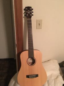 Court Earth mini acoustic guitar