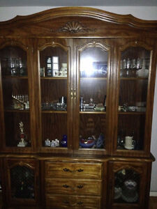 $100 o.b.o mint condition Dining RM Cabinet