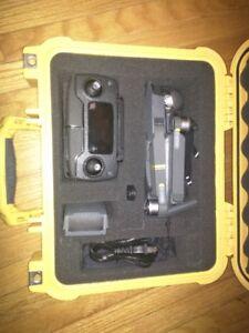 DJI Mavic Pro 4K UHD Drone complete with Pelican case