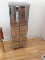 Beautiful Mirrored Jewelry Armoire! Price Negotiable~