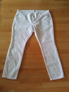 Women's Old Nay white skinny jeans denim pants Size 18 petite London Ontario image 8