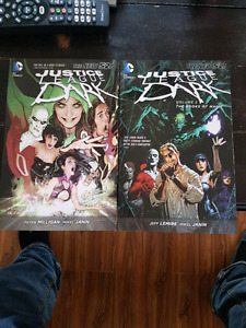 Justice league dark graphic novels