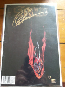 SPAWN Variant cover comic signed by artist Greg Capullo