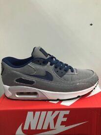 Nike air max 90 denim blue sizes 6-9-11