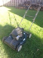 "Yardworks 21"" Cut Self Propelled Lawnmower"