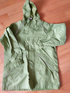 Rain jacket by MEC youth size 12