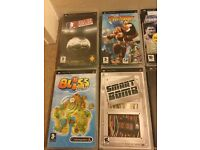 PSP 1003 G1 Giga pack boxed with 12 games and 9 films plus a sound system